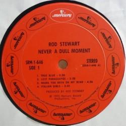 Rod Stewart - Never a dull...